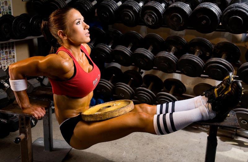 Tjejer och styrketräning